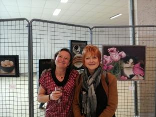 Avec Annette Verbeke