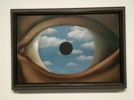 René Magritte, Le faux miroir